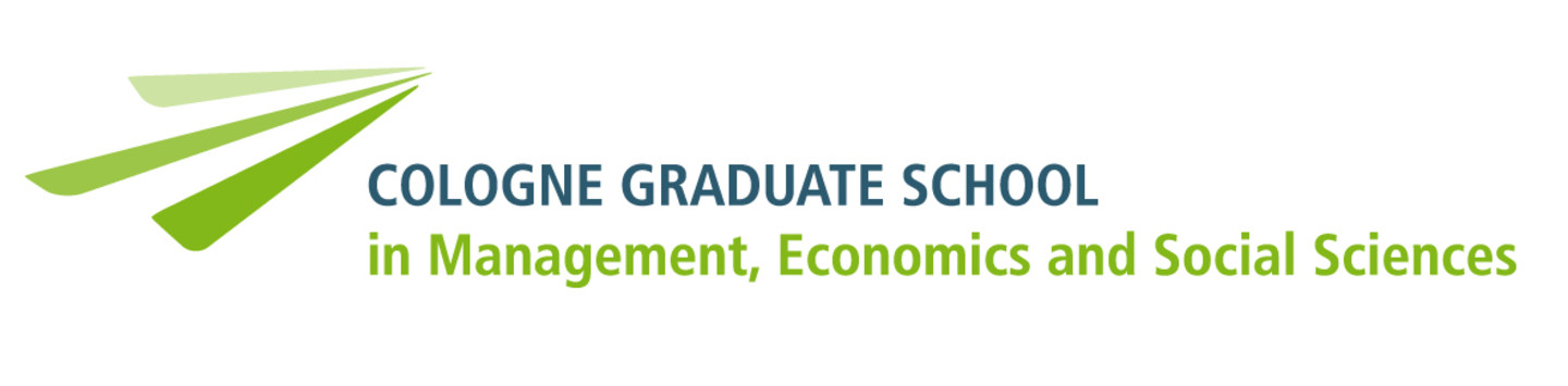 Logo Cologne Graduate School in Managment, Economics and Social Sciences