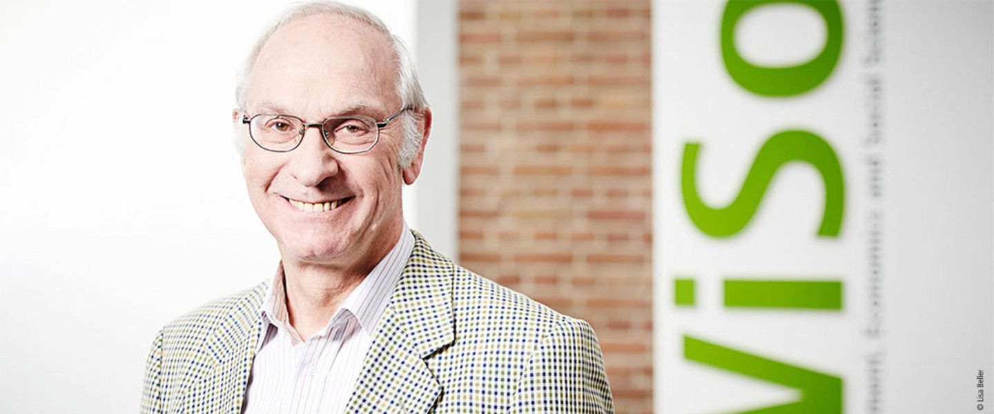 Portrait Prof. Dr. Wolfgang Wessels - Jean Monnet Chair for European Politics